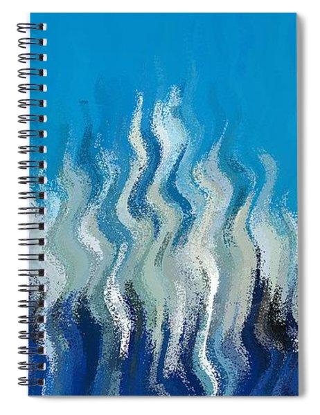Blue Mist Spiral Notebook