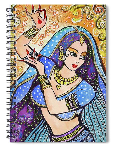 Blue Devi Spiral Notebook