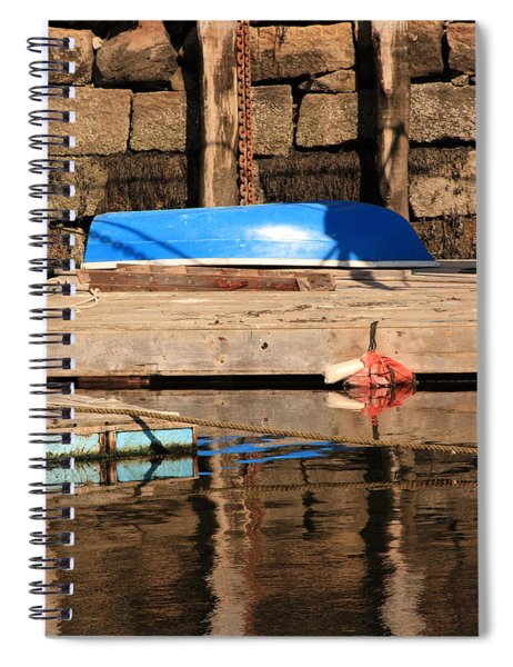 Blue Dingy Spiral Notebook