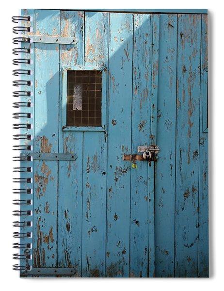Blue Doors Spiral Notebook