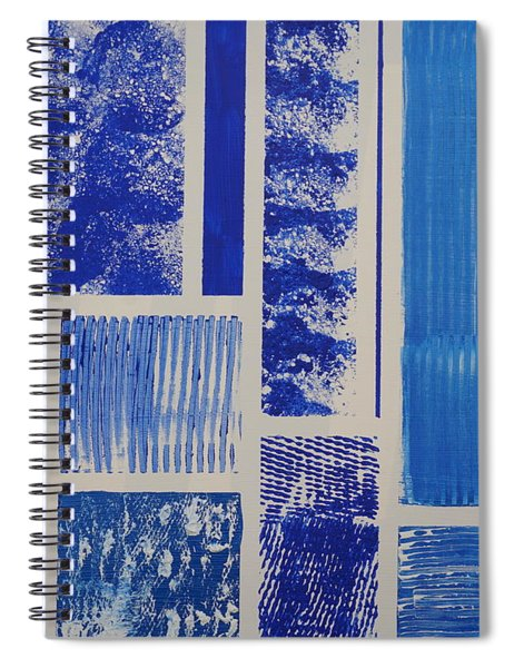 Blue Expo Spiral Notebook