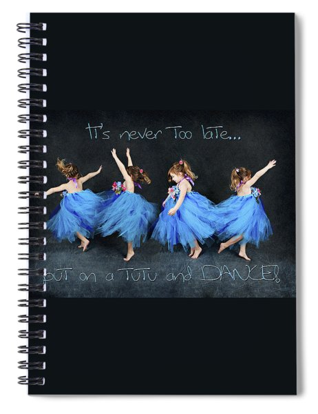 Blue Fairy Spiral Notebook