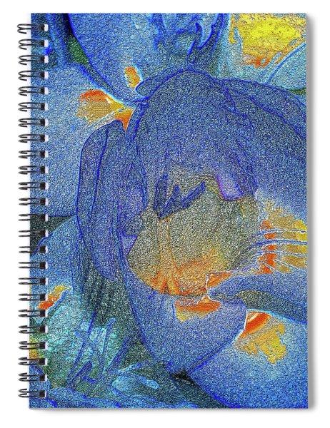 Blue Freesia's Spiral Notebook