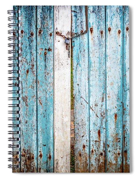 Blue Gate Spiral Notebook