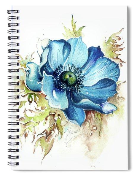 Blue Gem Spiral Notebook