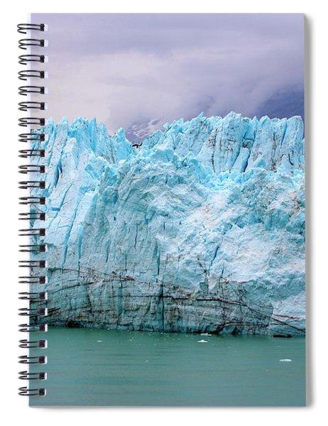 Blue Glacier Spiral Notebook