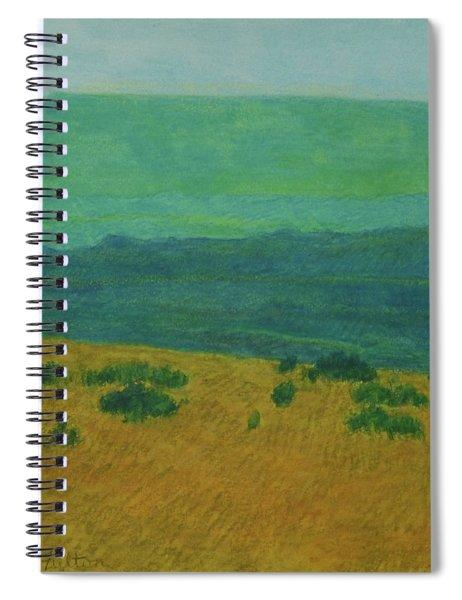 Blue-green Dakota Dream, 1 Spiral Notebook