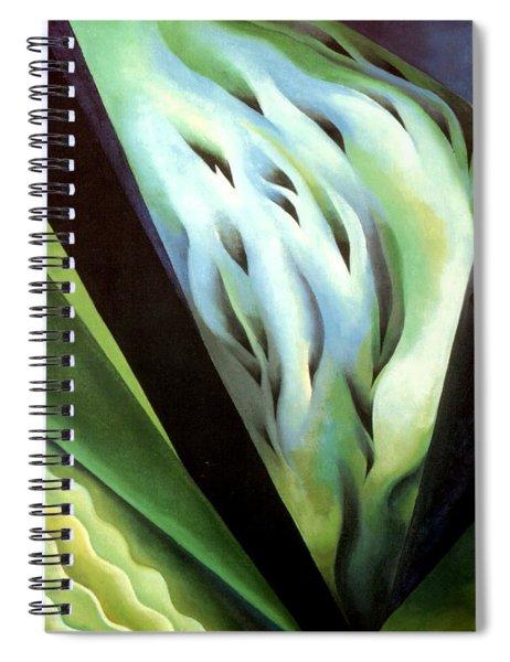 Blue Green Music Spiral Notebook