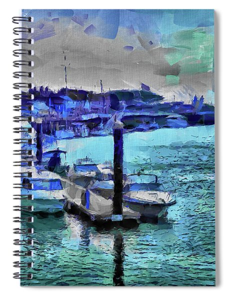 Blue Harbour Spiral Notebook