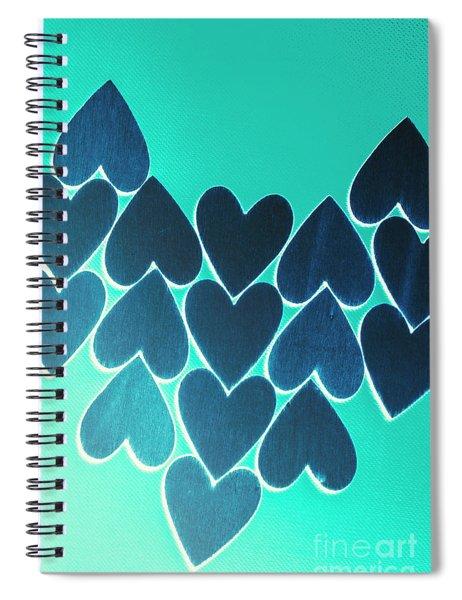 Blue Heart Collective Spiral Notebook