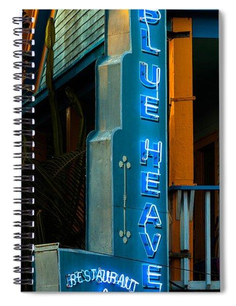 Blue Heaven Spiral Notebook by Ed Gleichman