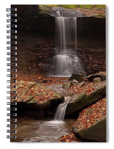 Blue Hen Falls And Cascade Spiral Notebook