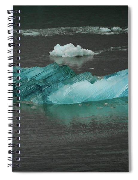 Blue Iceberg Spiral Notebook