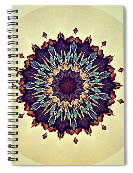 Blue Iris Spiral Notebook