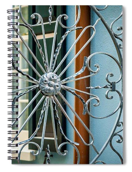 Charleston Spiral Notebook