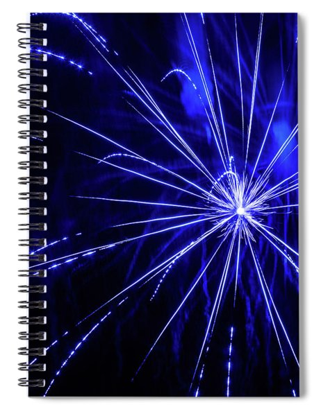 Blue Is The Color Spiral Notebook