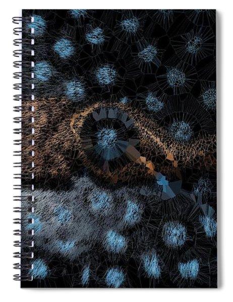 Blue Label Lp Goddess Spiral Notebook