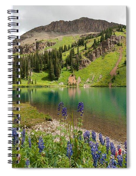 Blue Lakes Summer Splendor Spiral Notebook