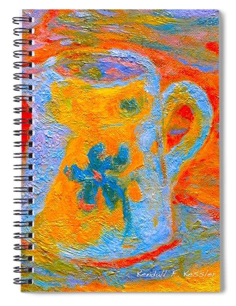 Blue Life Spiral Notebook