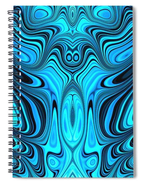 Blue Mekon Spiral Notebook