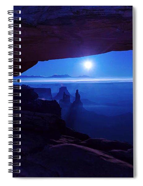 Blue Mesa Arch Spiral Notebook