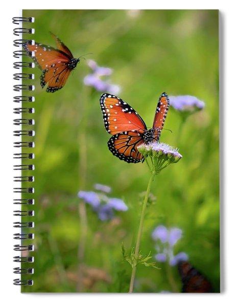 Blue Mist Lunch Date Spiral Notebook