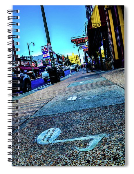 Blue Notes On Beale Spiral Notebook