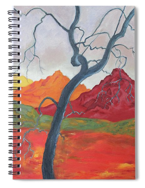 Blue Retama Spiral Notebook