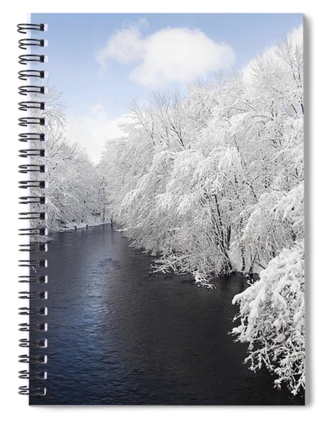Blue Ribbon River Spiral Notebook