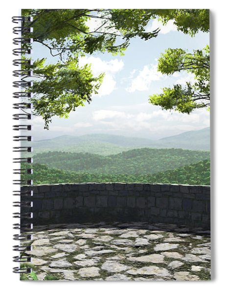 Blue Ridge Spiral Notebook