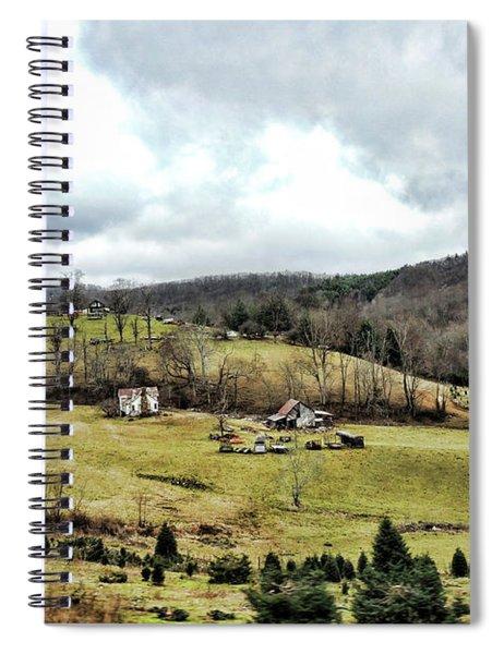 Blue Ridge Homestead Spiral Notebook