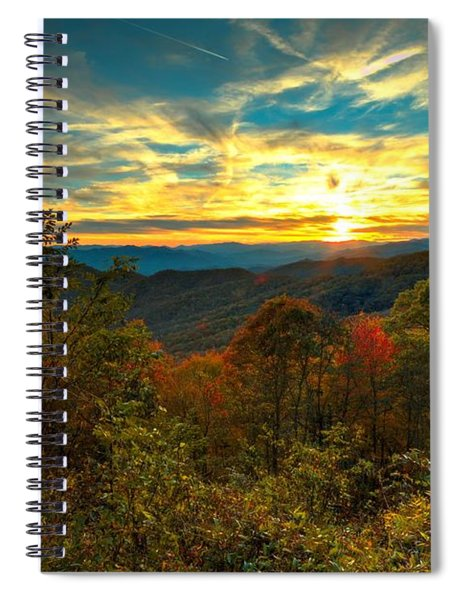 Blue Ridge Sunsets Spiral Notebook