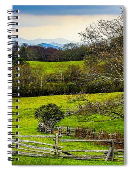 Blue Ridge Vista Spiral Notebook