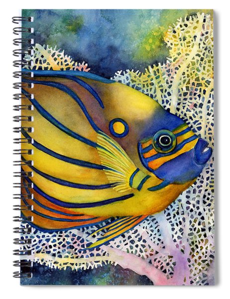 Blue Ring Angelfish Spiral Notebook