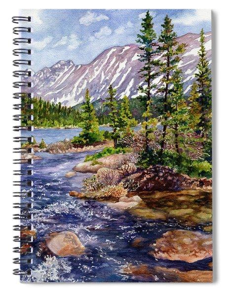 Blue River Spiral Notebook