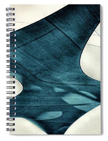 Blue Sails Spiral Notebook