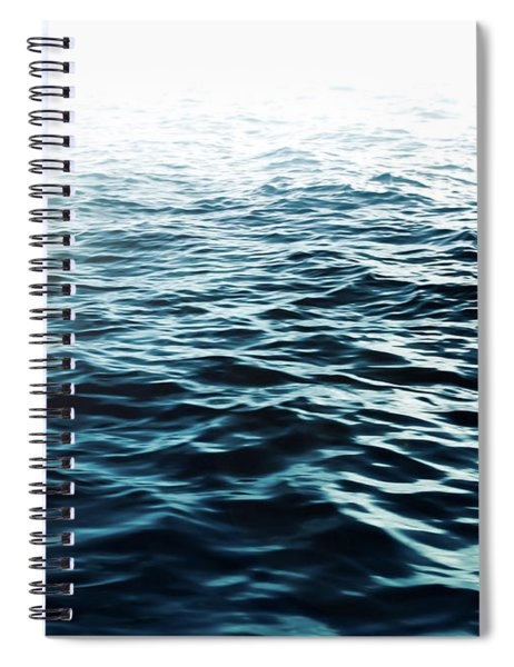Blue Sea Spiral Notebook