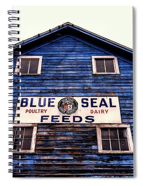 Blue Seal Feeds Spiral Notebook