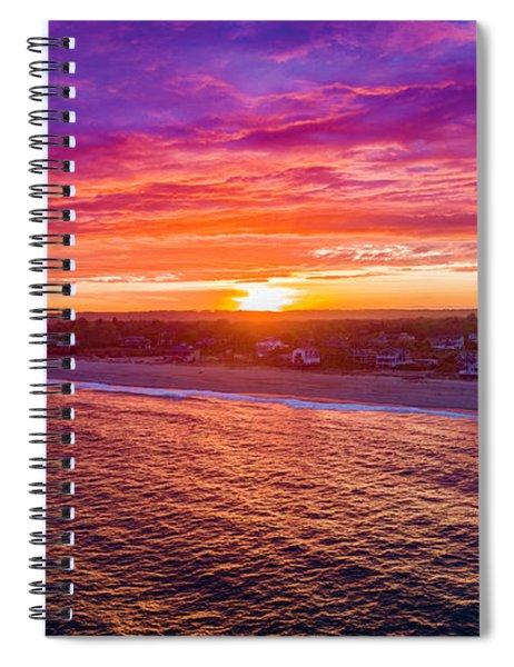 Blue Shutter East Beach Spiral Notebook