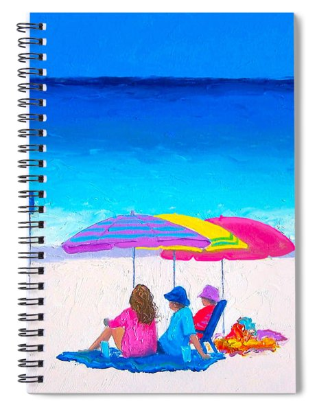 Blue Skies Clear Water Spiral Notebook