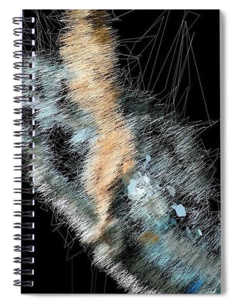 Blue Sky Beach Spiral Notebook