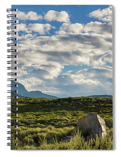 Blue Sky Monmouth  Spiral Notebook