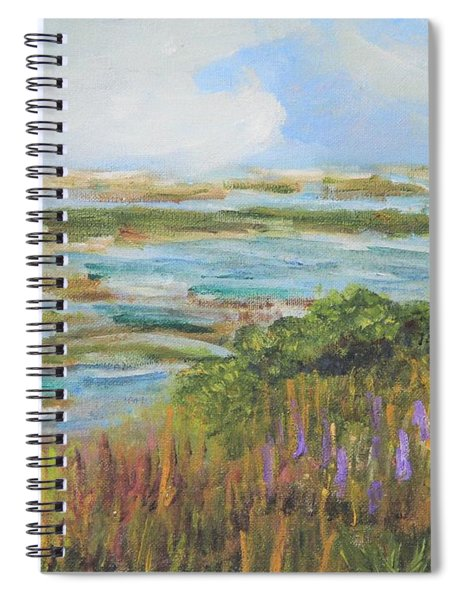 Blue Sky Over Fort Hill Spiral Notebook