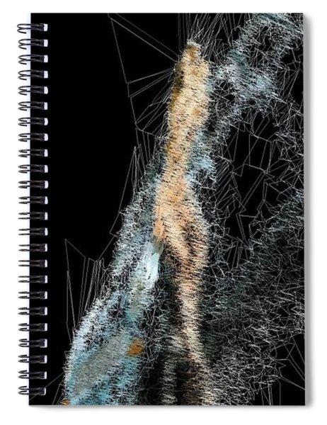 Blue Sky Surf Beach Spiral Notebook