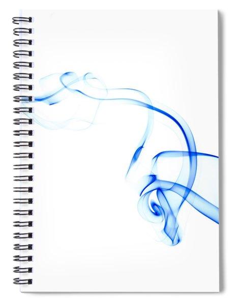 Blue Smoke Spiral Notebook