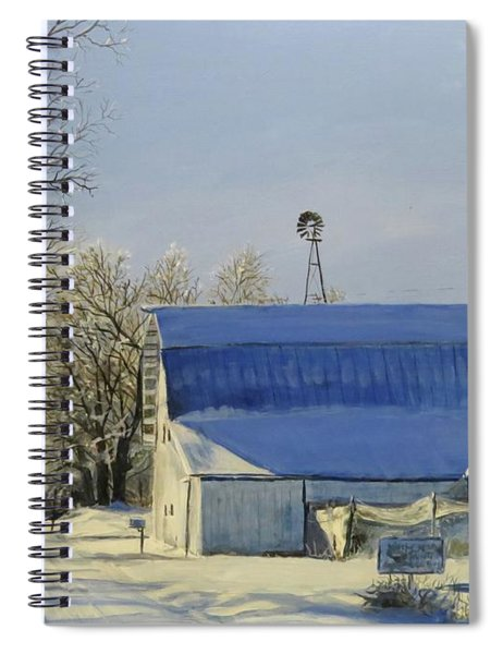 Blue Sunday Spiral Notebook