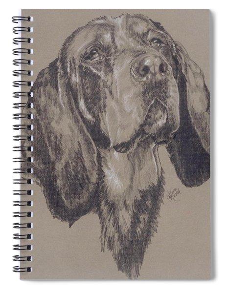 Bluetick Coonhound Spiral Notebook