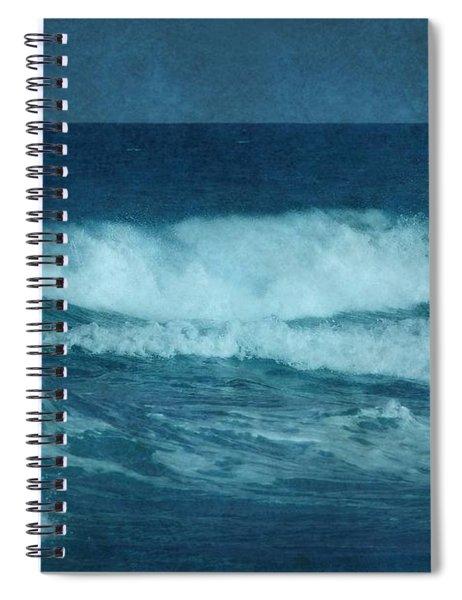 Blue Waves - Jersey Shore Spiral Notebook