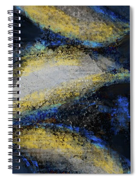 Blue Whales Spiral Notebook