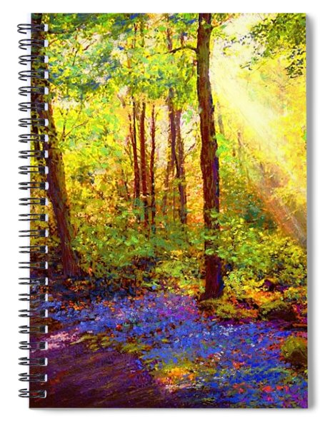 Bluebell Blessing Spiral Notebook